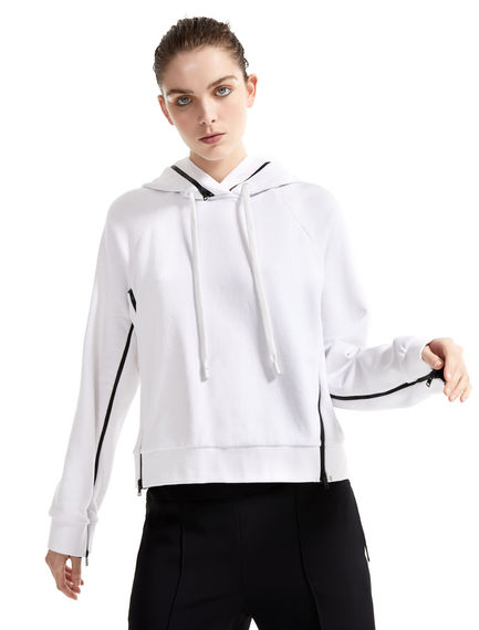 Jersey Double Hooded Sweatshirt Sportmax