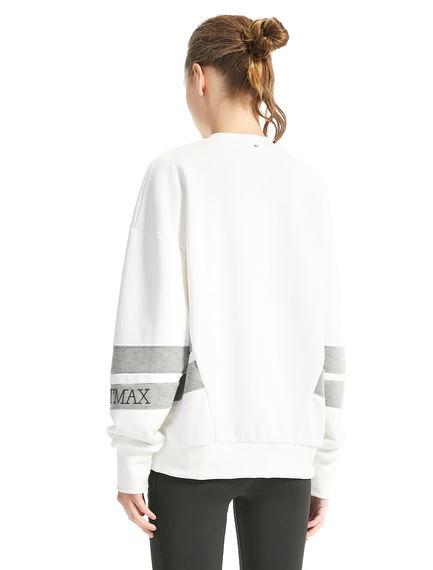 Graphic Stripe Sweatshirt