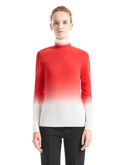 Lupetto in jersey bicolore