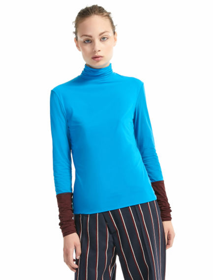 Funnel Neck Jersey Sweater Sportmax