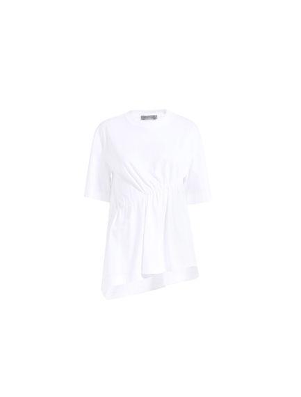 Drawstring Cotton T-shirt