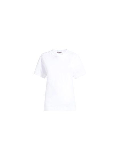 Embossed Logo Cotton Jersey T-shirt
