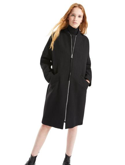 Wool Kimono Coat