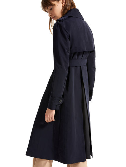 Technical Fabric Trench Coat Sportmax