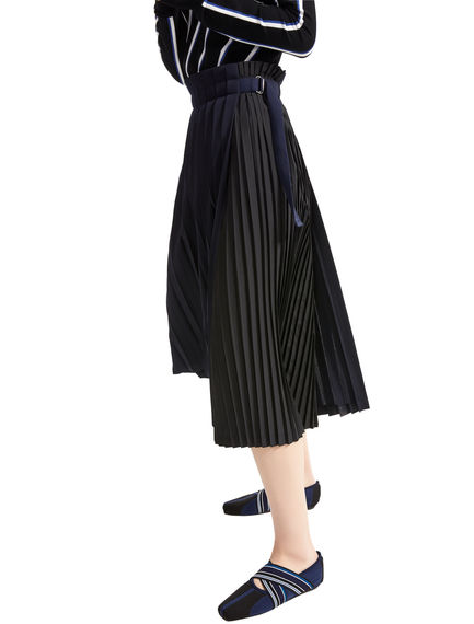 Precision Pleat Double Skirt Sportmax