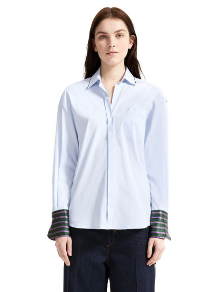 Sartorial Striped Cuff Shirt Sportmax