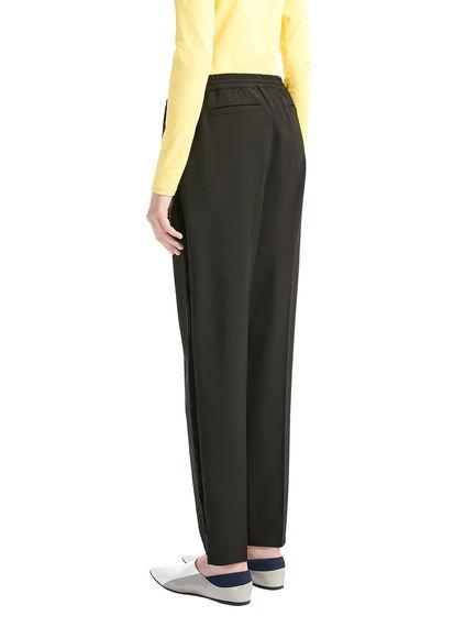 Sartorial Wool & Velvet Jogging Trousers