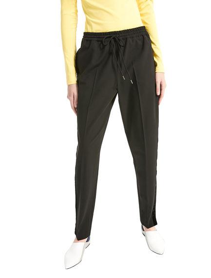 Sartorial Wool & Velvet Jogging Trousers Sportmax