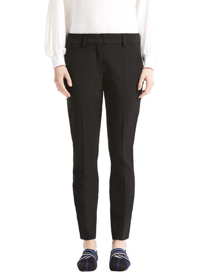 Sartorial Wool Cigarette Trousers