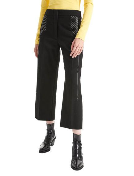 Gabardine Cropped Trousers Sportmax