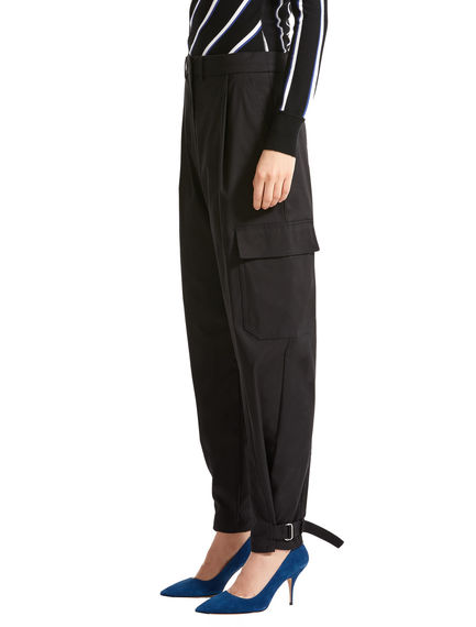 Sartorial Ankle Strap Cargo Trousers