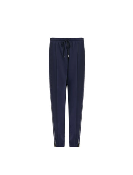 Contrast Stitch Jogging Trousers