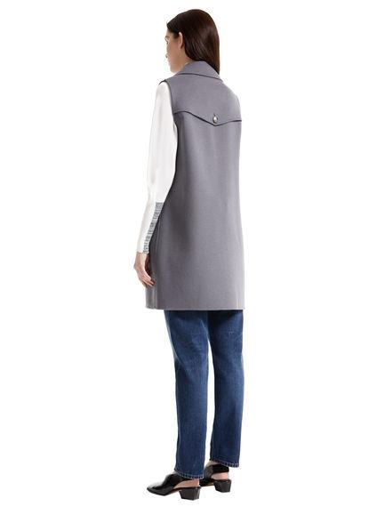 Hand-sewn Wool Gilet