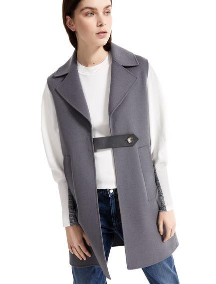 Hand-sewn Wool Gilet Sportmax