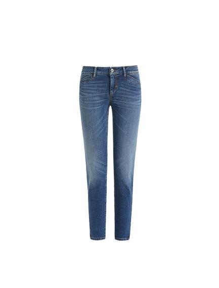 Zip-ankle Super Skinny Jeans