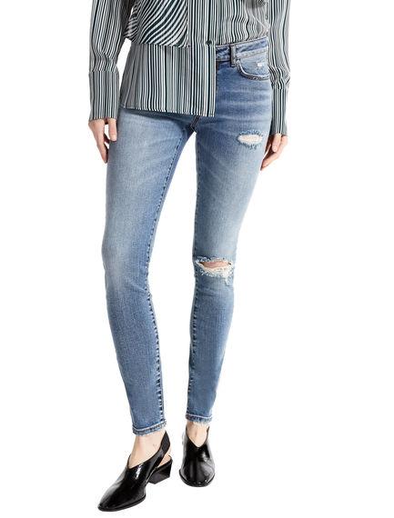 Ripped Skinny Jeans Sportmax