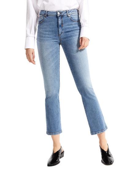 Mini-flare Sandblasted Jeans Sportmax
