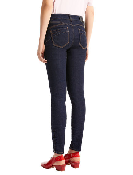 Zip-ankle Super Skinny Jeans