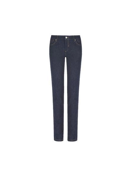 Sandblasted Skinny Jeans