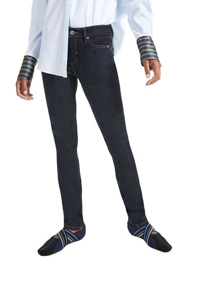 Sandblasted Skinny Jeans Sportmax