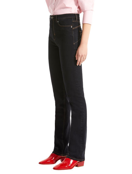 Black Straight Fit Jeans