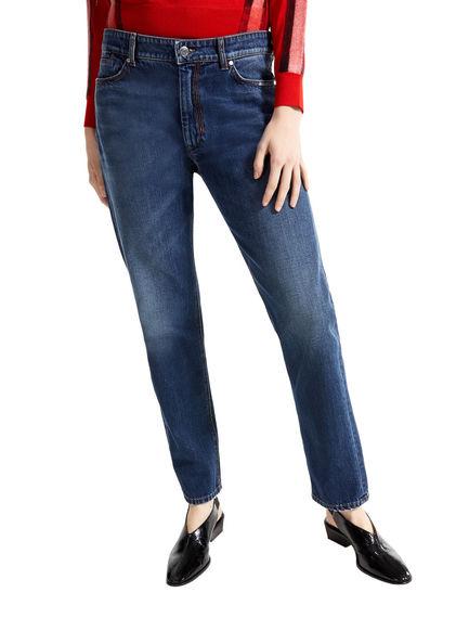 Jeans dalla linea dritta color indaco Sportmax