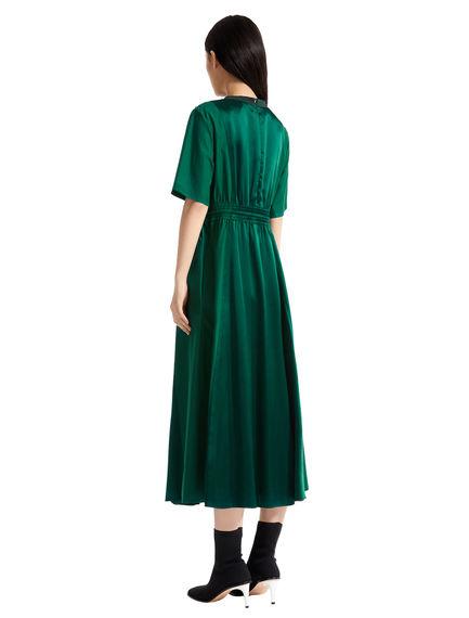 Poplin & Satin T-shirt Dress