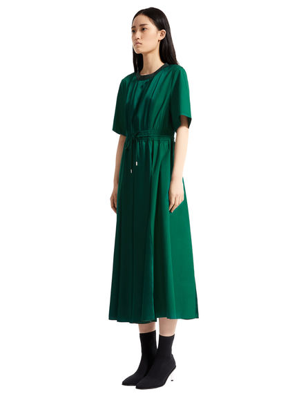 Poplin & Satin T-shirt Dress Sportmax