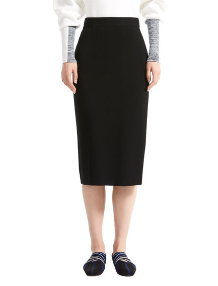 Sportmax Code Viscose Knit Pencil Skirt