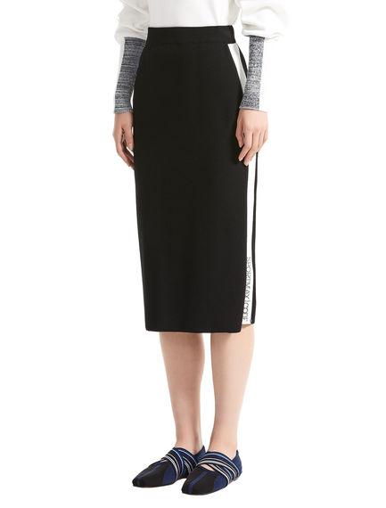 Sportmax Code Viscose Knit Pencil Skirt