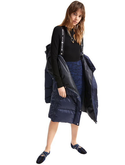 Sportmax Code 'Separates' Viscose Knit Dress