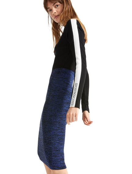 Sportmax Code 'Separates' Viscose Knit Dress Sportmax
