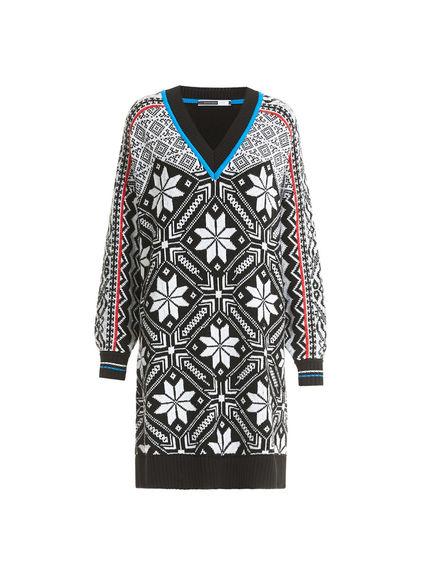 Nordic Wool Sweater Dress