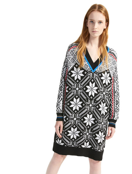 Nordic Wool Sweater Dress Sportmax