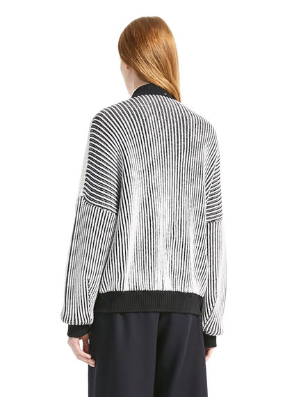 Argyll Ribbed Wool Cardigan