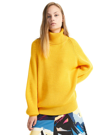 Polo Neck Wool Sweater Sportmax