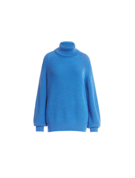 Polo Neck Wool Sweater