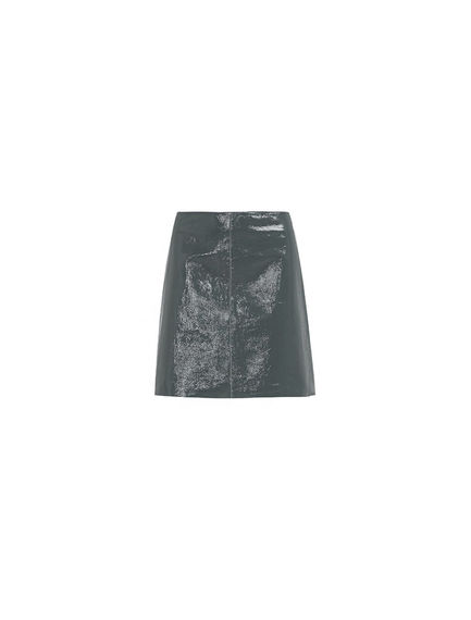 Naplak Leather Mini Skirt Sportmax