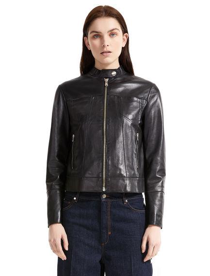 Nappa Leather Motorcycle Jacket