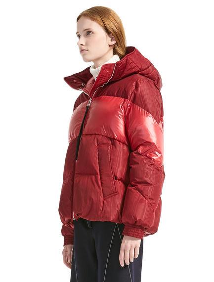 Bi-texture Transforming Down-filled Jacket