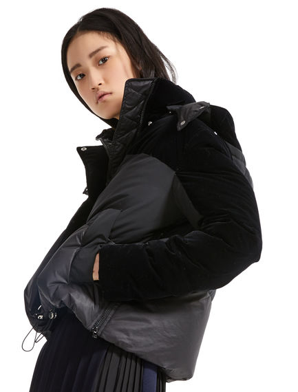 Flocked Transforming Down Jacket Sportmax