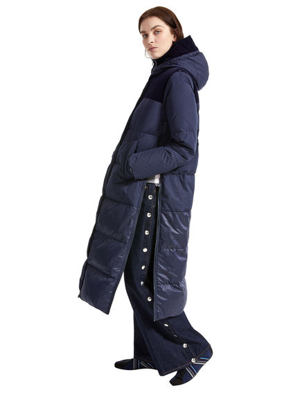 Flocked Transforming Down Coat Sportmax