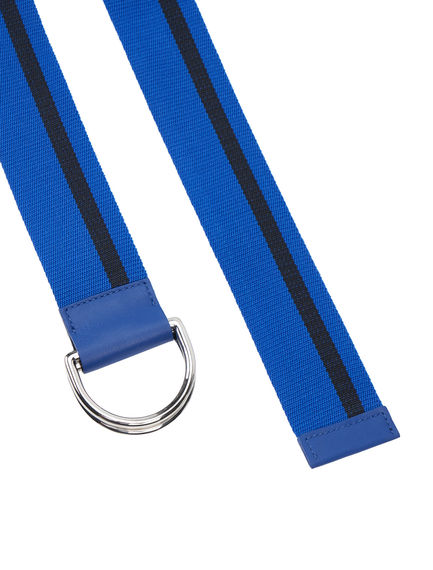 Ski-inspired Striped Belt