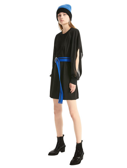 Ski-inspired Striped Belt Sportmax