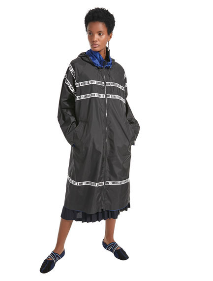Off Limits Reversible Raincoat
