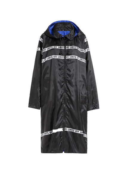 Off Limits Reversible Raincoat Sportmax