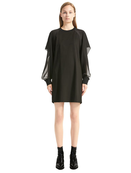 Crêpe Sleeve Mini Dress Sportmax