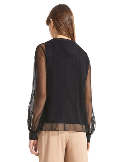 Layered Tulle Top