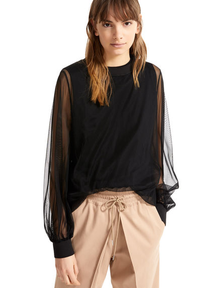 Layered Tulle Top Sportmax