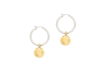 Hoop & Ball Earrings Sportmax